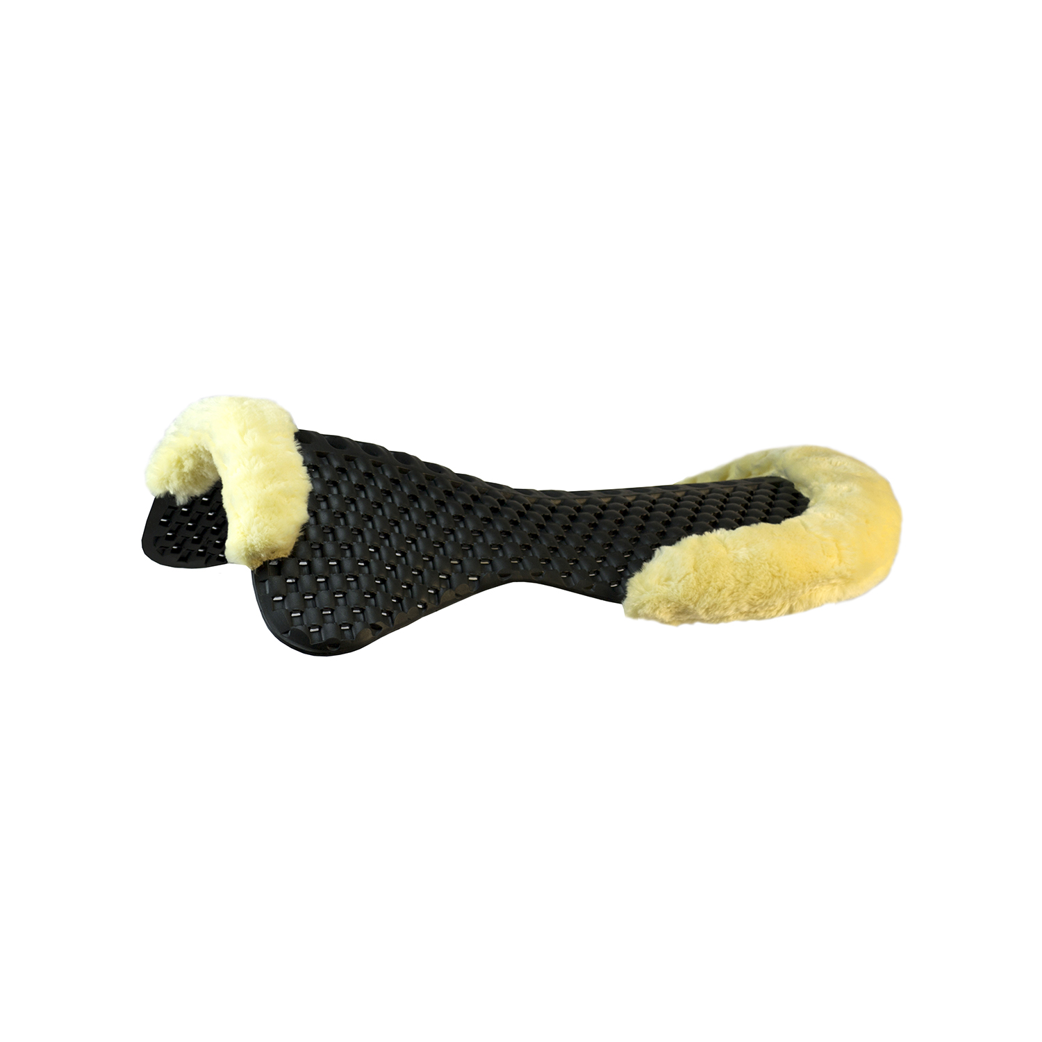 ACavallo Piuma Air-Release Featherlight Pad Cut-Out Eco-Wool