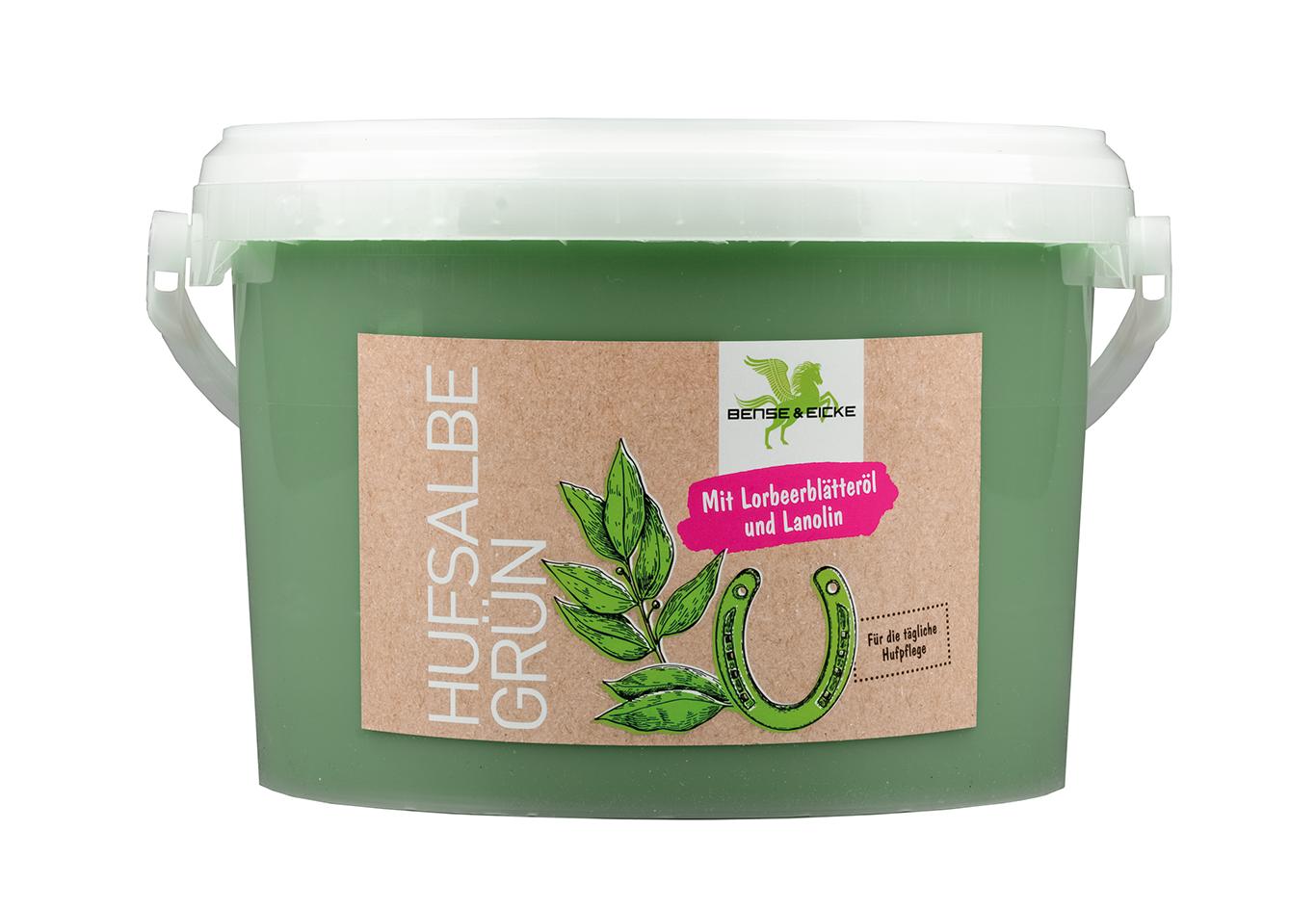 Hufsalbe grün 2,5L Bense&Eicke