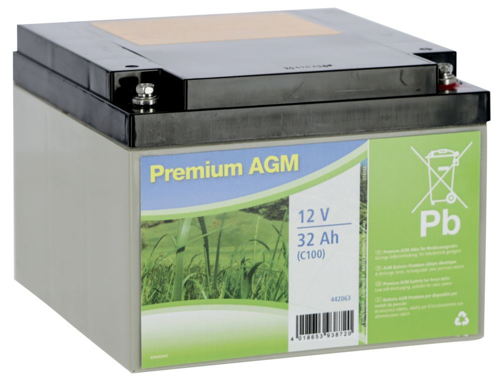 Premium AGM Batterie 32 AH (C100)
