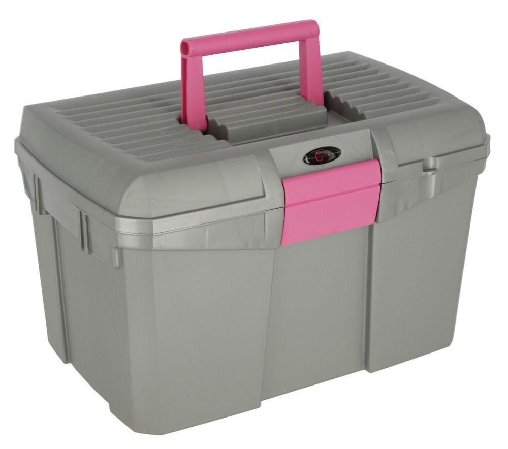 Putzbox Siena grau/pink
