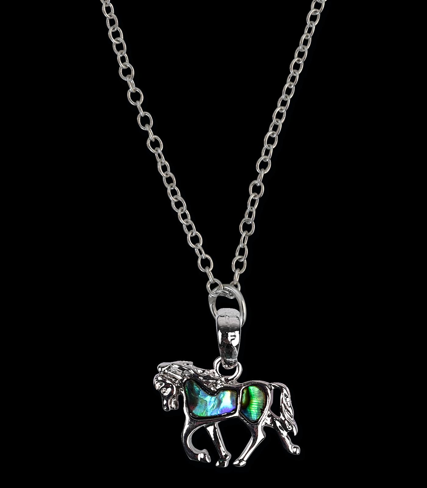 Halskette Pferd