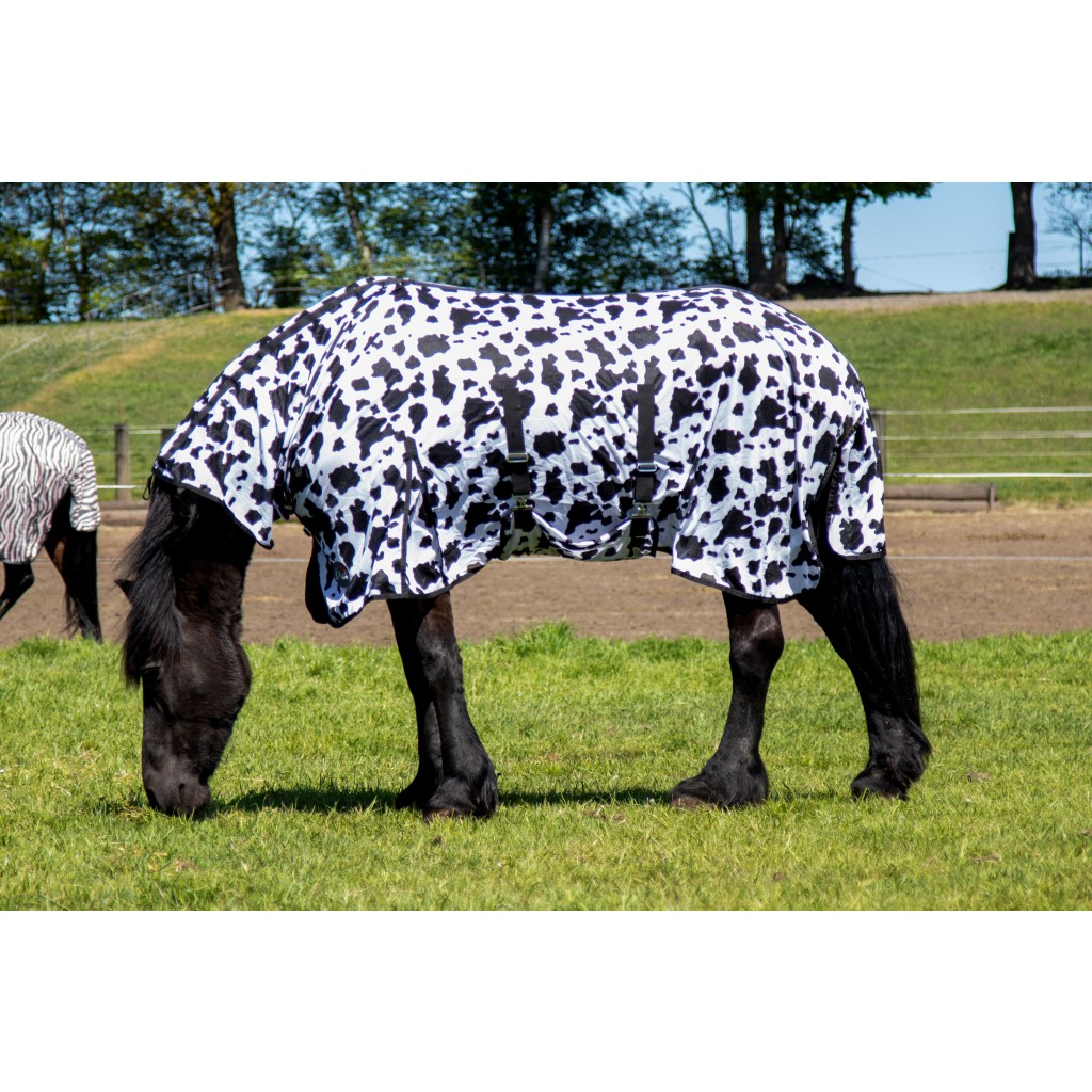 Fliegendecke Cow mit Halsteil