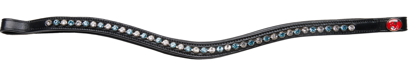 Kieffer Stirnband Collection Crystal Topaz