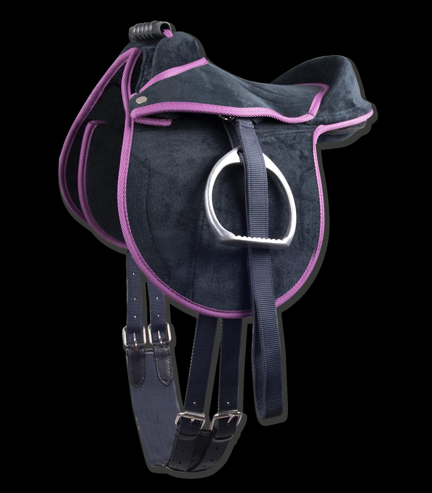 Reitkissen Unicorn nachtblau/lila