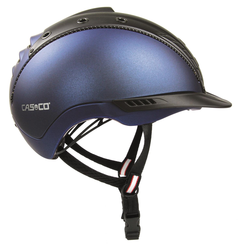 Casco Mistrall 2 Edition blau-schwarz Struktur