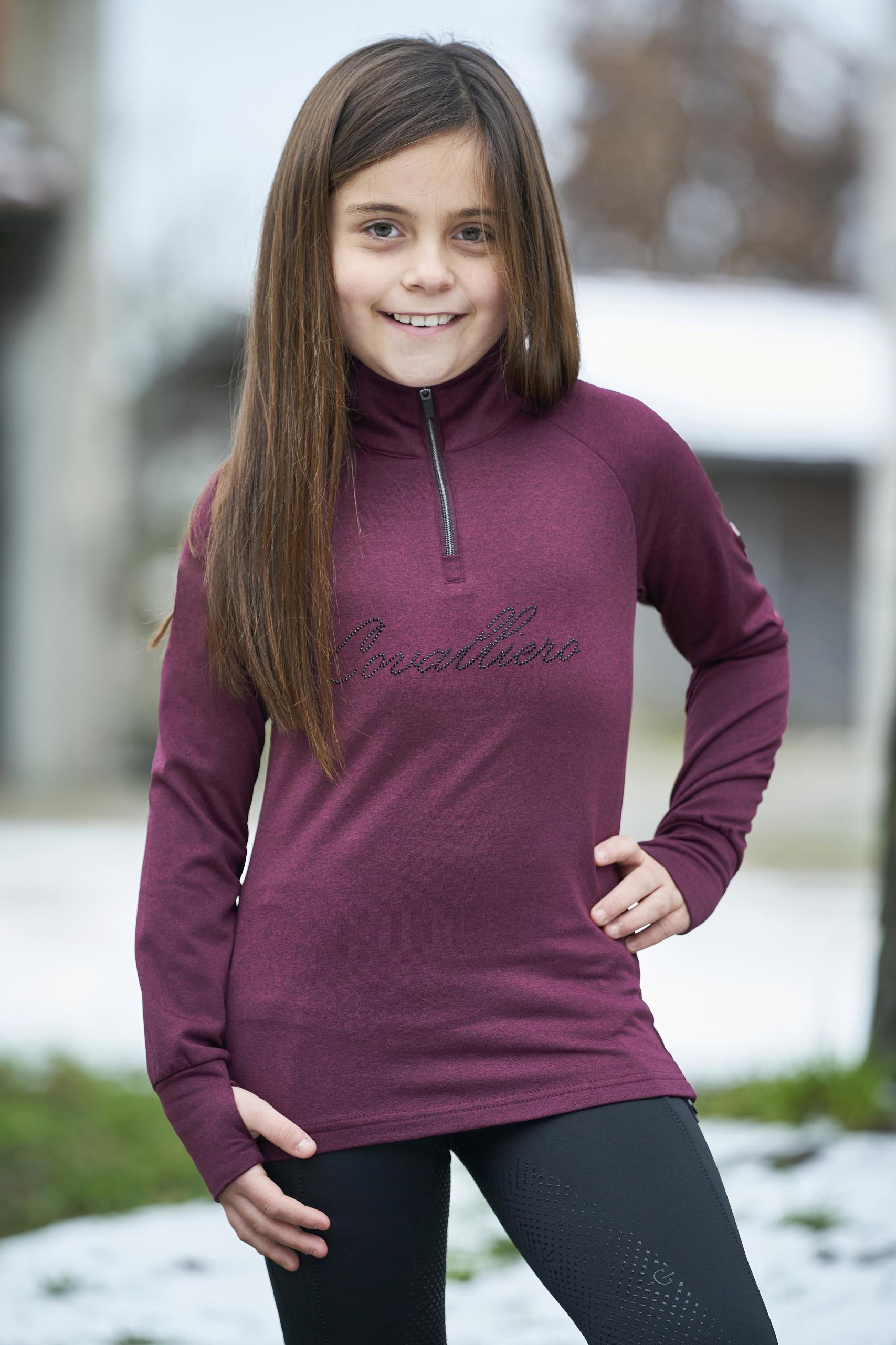 Kinder Activ Shirt flauschig weiche Innenseite Covalliero