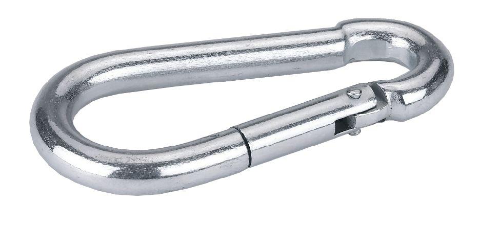 Birnenkarabiner 60mm 6 Stück Pkg.