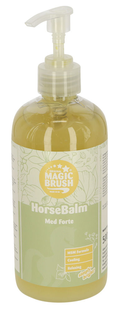 MagicBrush WaterLily Horse-Balm Med Forte