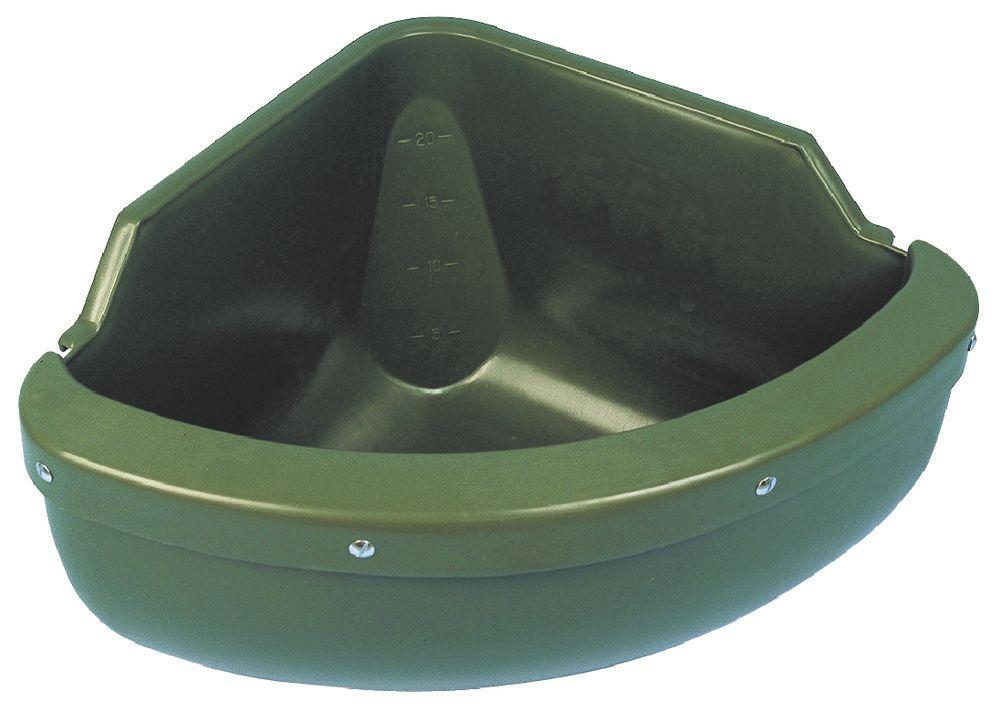 Eck- Futtertrog mit Schutzkante 31L