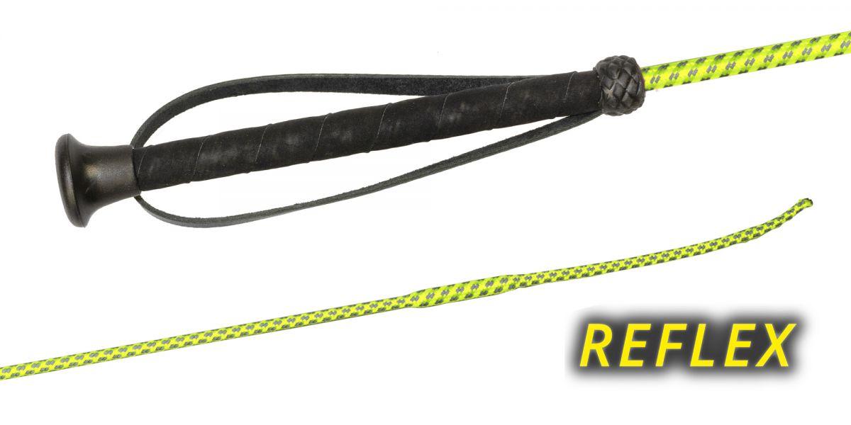 Fleck Reitgerte Reflex