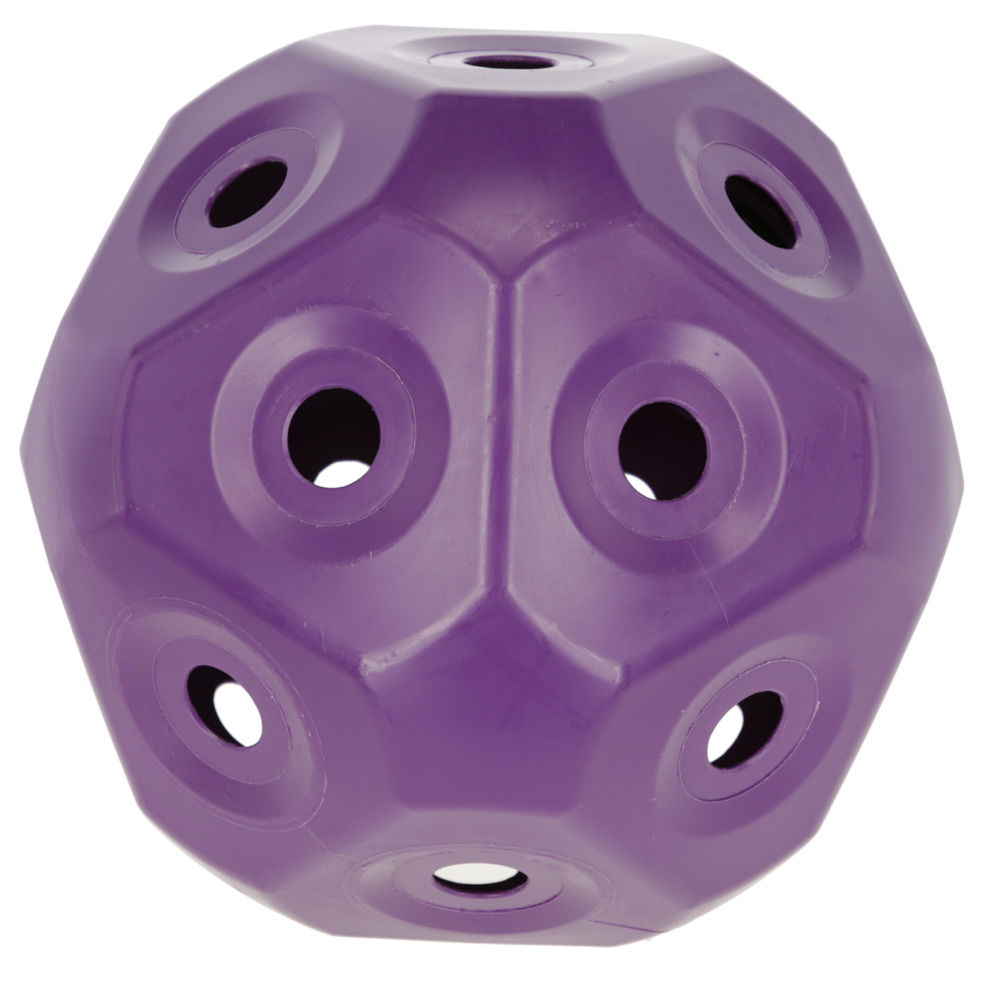 HeuBoy für Pony Futterspielball lila