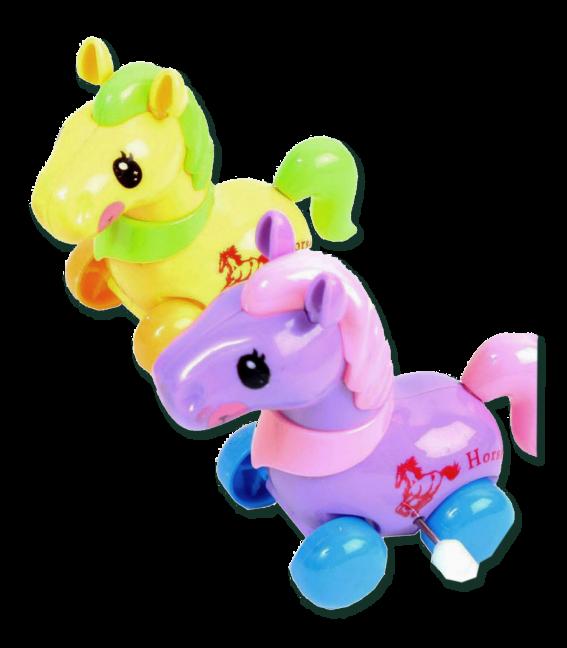 Lauf kleines Pony zum Aufziehen
