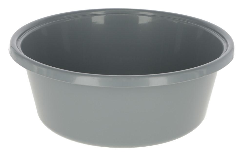 Futterschale 6lt. grau