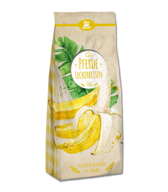 Derby Leckerwürfel Banane 1kg