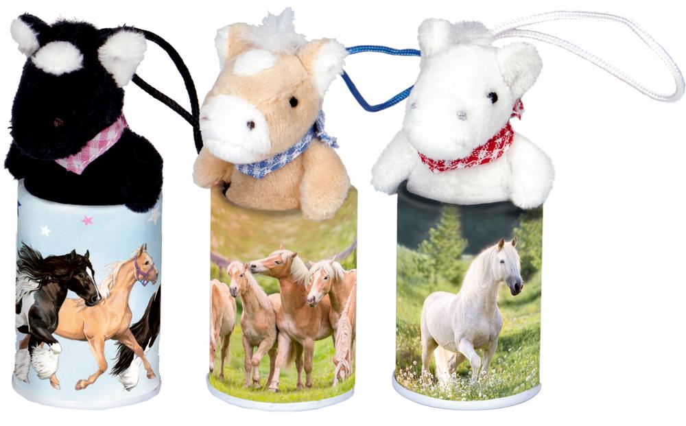 Pferde-Anhänger im Döschen