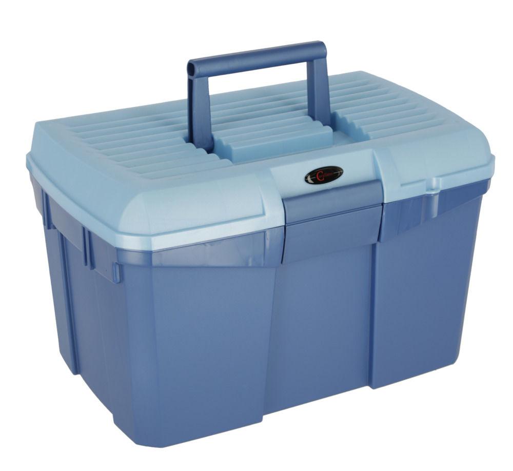Putzbox Siena marine/hellblau