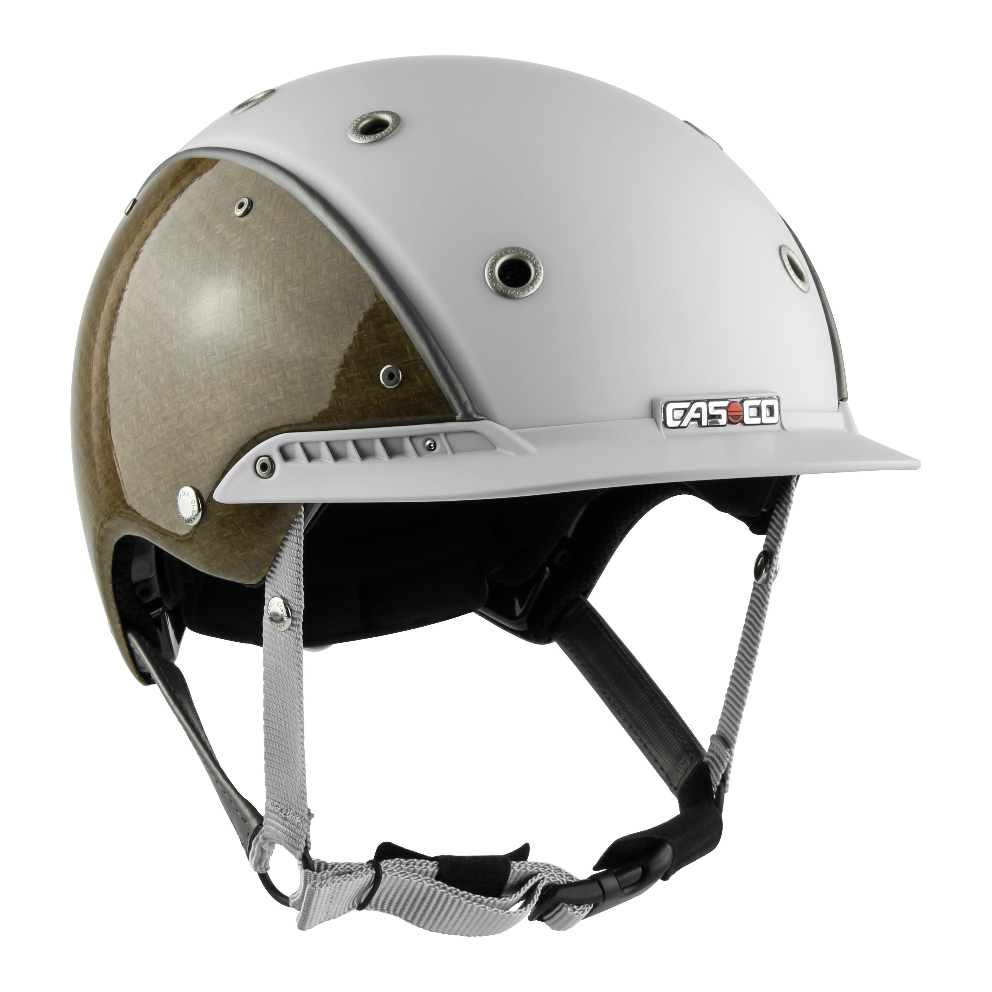 Casco Champ-3 Flachsfaser weiß-grau