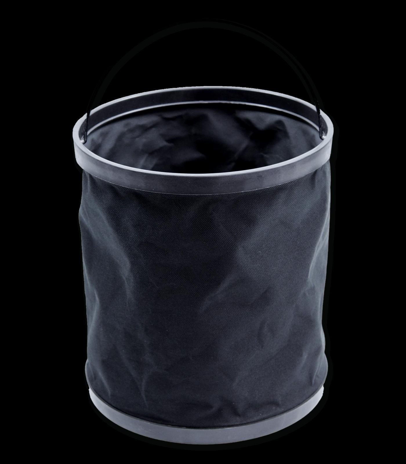 Falteimer schwarz