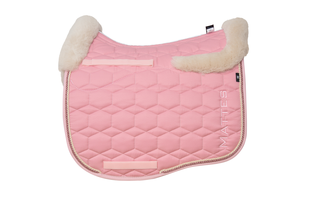 Mattes Schabracke Eurofit blush pink