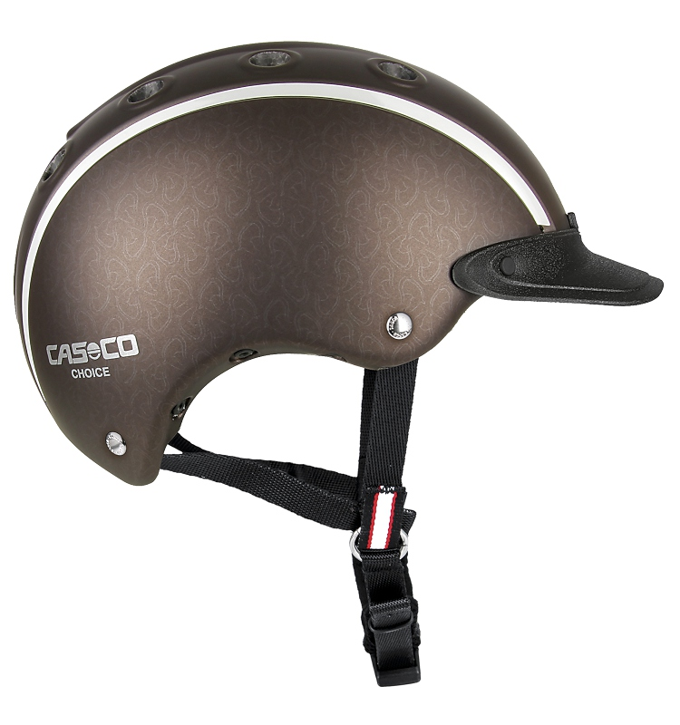 Casco Reithelm Choice braun