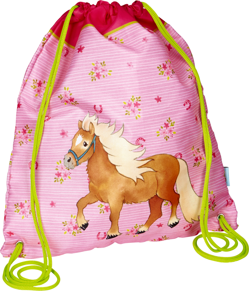 Ponyhof Turnbeutel rosa