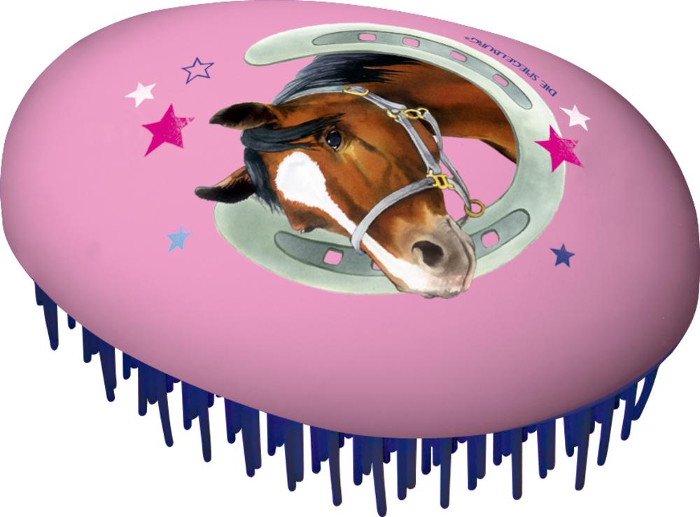 Pferdefreunde Haarbürste Anti-Ziep