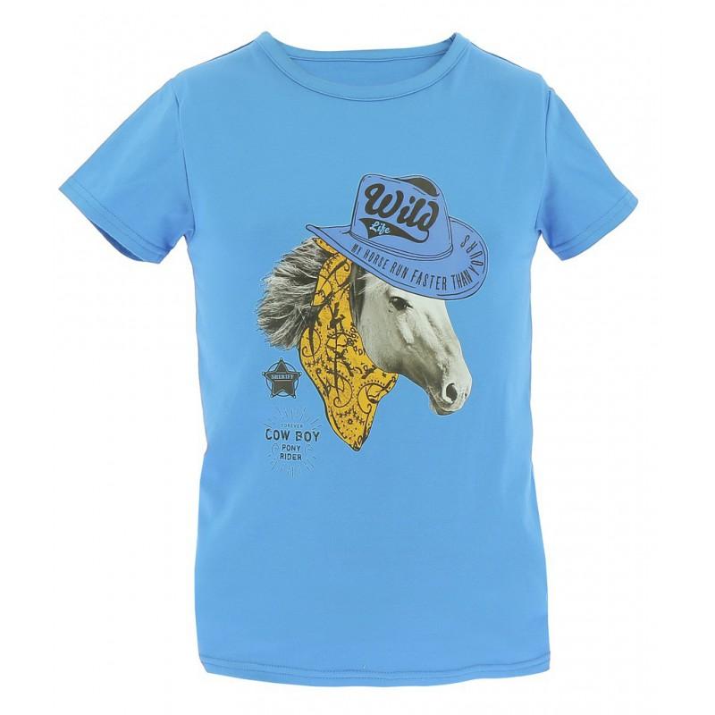 Kinder T-Shirt Equi-Kids Cowboy