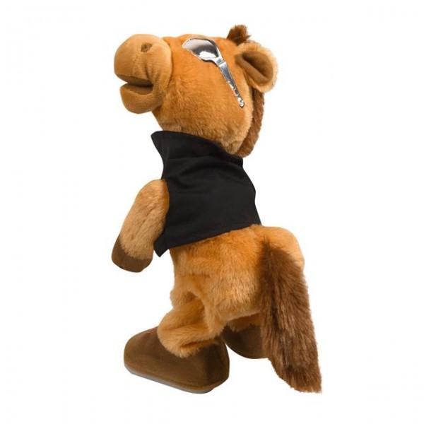 Pferd Falko mit Brille & Sound