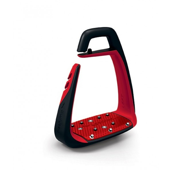 freejump Soft'Up Classic Steigbügel black/red